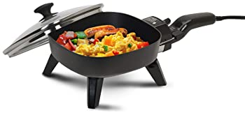 Elite Cuisine EFS-400 Maxi-Matic Non-Stick Electric Skille