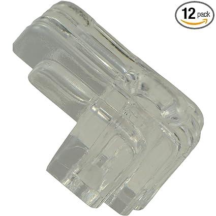Hard To Find Fastener 014973157142 Decorative Mirror Clips 1 4 Glass Piece 12