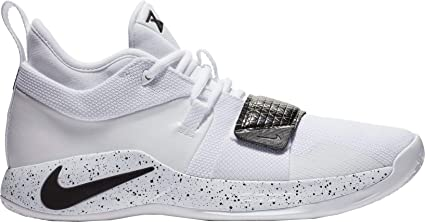 cfa60440900ac Nike Men's PG 2.5 TB Basketball Shoes (White/Black, 14 M US)
