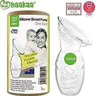 Haakaa Manual Breast Pump 4oz/100ml,2019 New Style