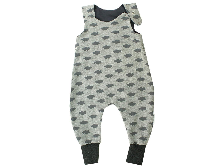 Kleine Könige Body para bebé, modelo nubes, gris, gris oscuro ...