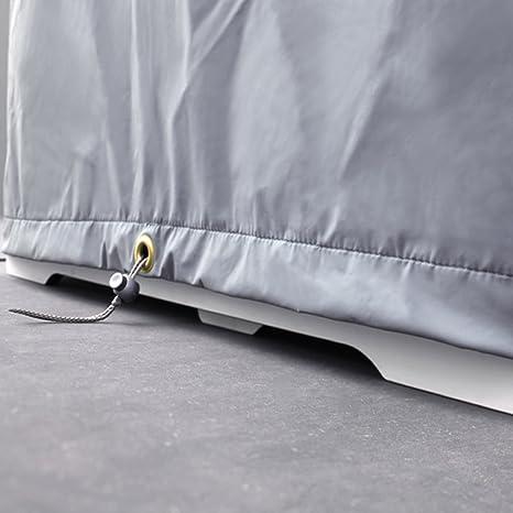Riva cubierta para mesa 180 cm & 2 bancos 176 cm con respaldo – 185 x