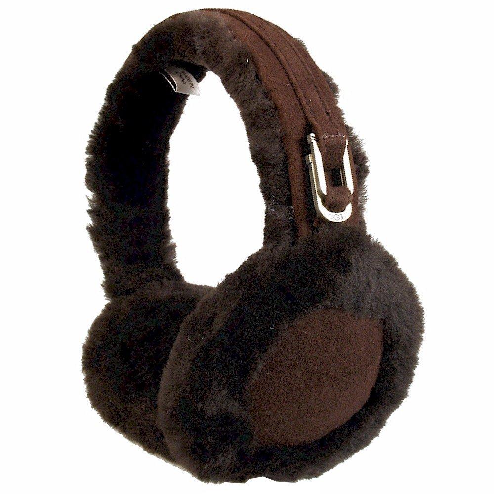 894651ef013 UGG Women's Double-u Logo Shearling Earmuff