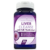 Liver Cleanse, Detox & Support with Milk Thistle, Artichoke, Dandelion & Turmeric...