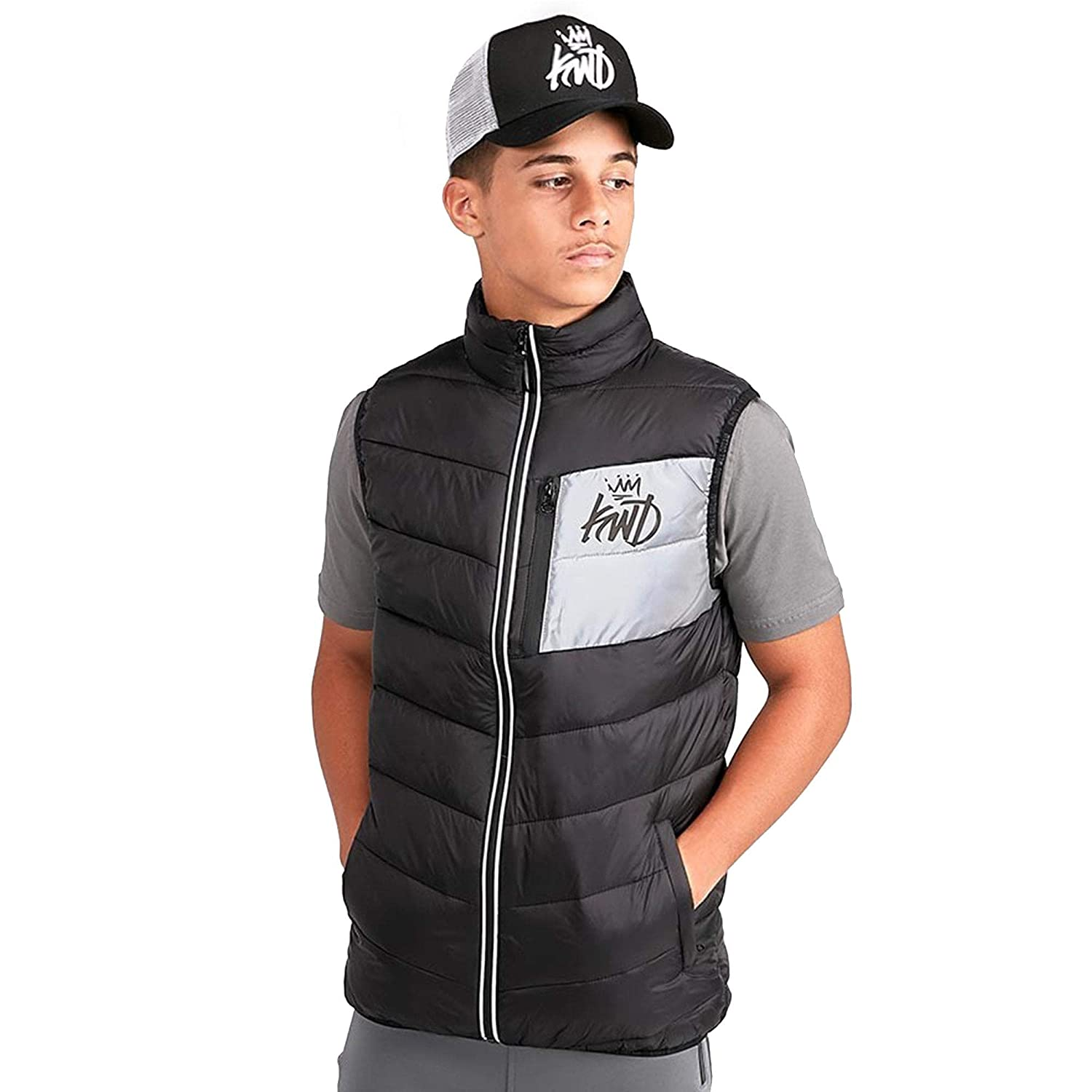 Kings Will Dream | KWD Kids Dudley Gilet - Black \ Ages: 8-15 Yrs