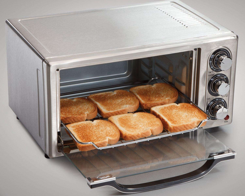 Uncategorized Useless Kitchen Appliances amazon com hamilton beach 31511 stainless steel 6 slice toaster oven kitchen dining