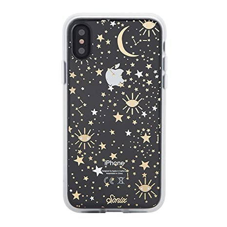 sports shoes e4fac 16345 Sonix Cosmic (Stars, Gold, Silver) Cell Phone Case, Military Drop Test  Certified - Sonix Clear Coat Series for Apple iPhone X, iPhone Xs