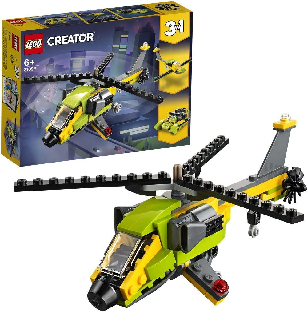 LEGO Creator - Aventura en Helicóptero (31092)