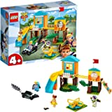 LEGO 4+ Disney Pixar's Toy Story 4 Buzz & Bo-Peep's Playground Adventure 10768 Building Kit
