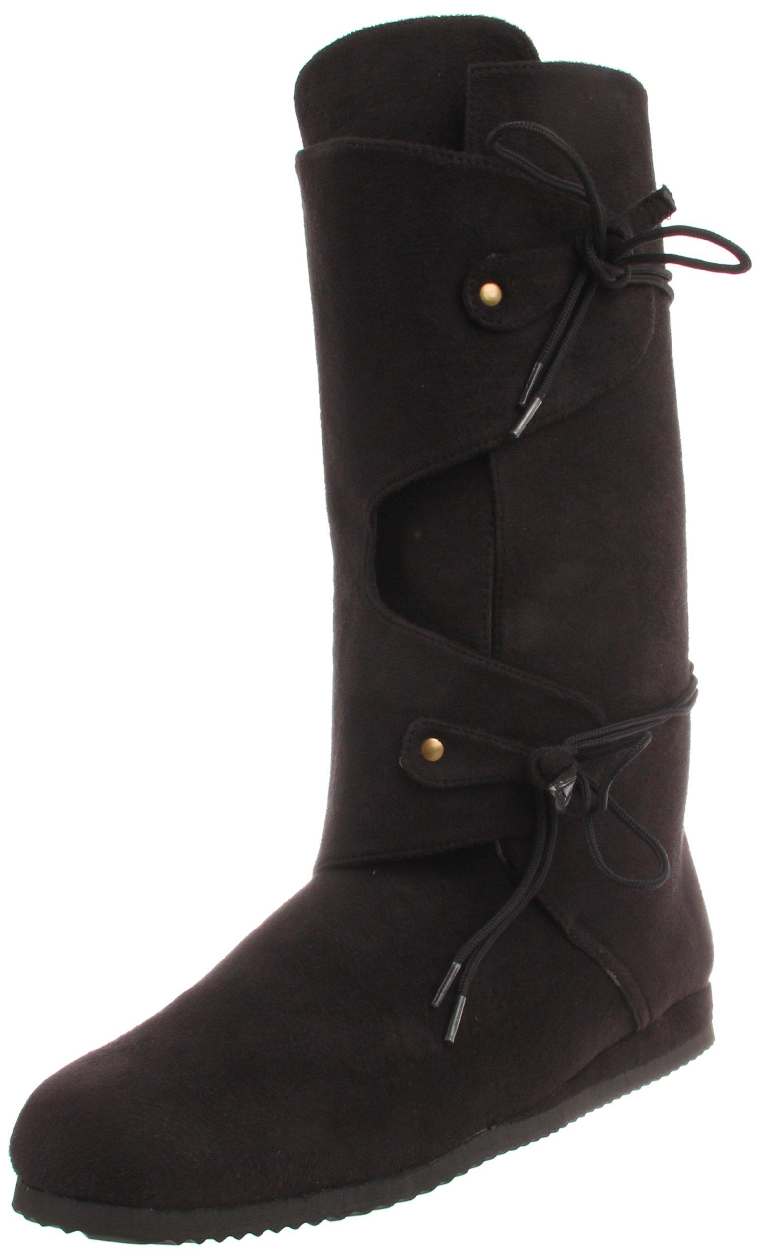 Funtasma Men's Renaissance-100 Boot Black 8-9 D(M) Us 14