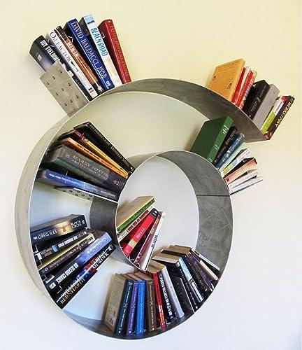 Floating Spiral Bookshelf Medium