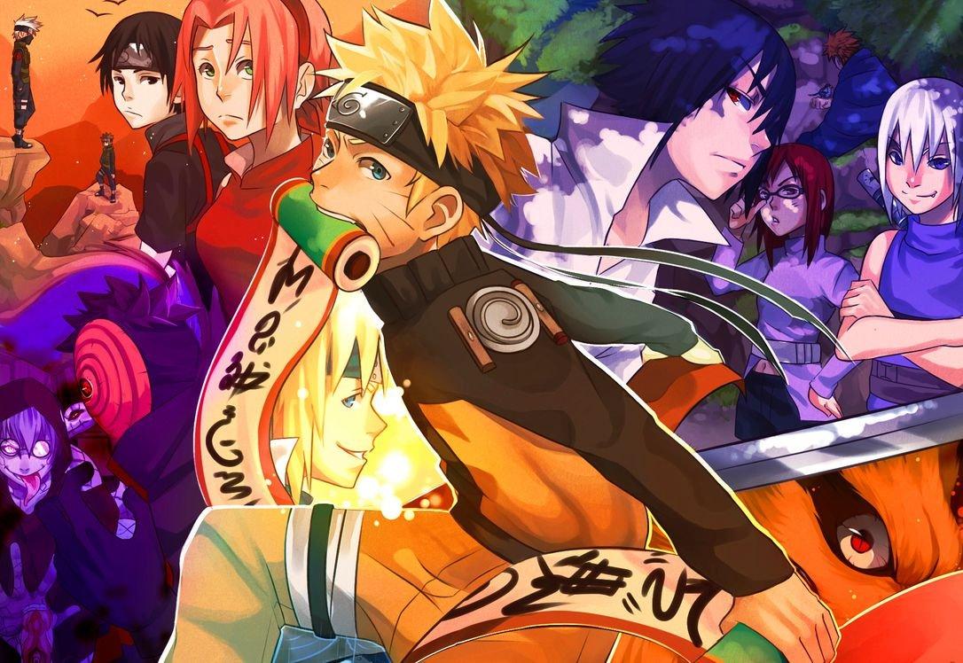 Road to Ninja Naruto the Movie (87x60 cm \ 35x24 inch ...