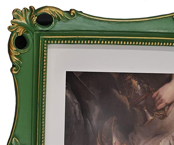 OVAL ORNATE ANTIQUE GOLD 11x14//11 x 14 Picture Frame