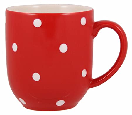 Spode Red Baking Days Polka Dot Mug: Amazon.co.uk: Kitchen & Home