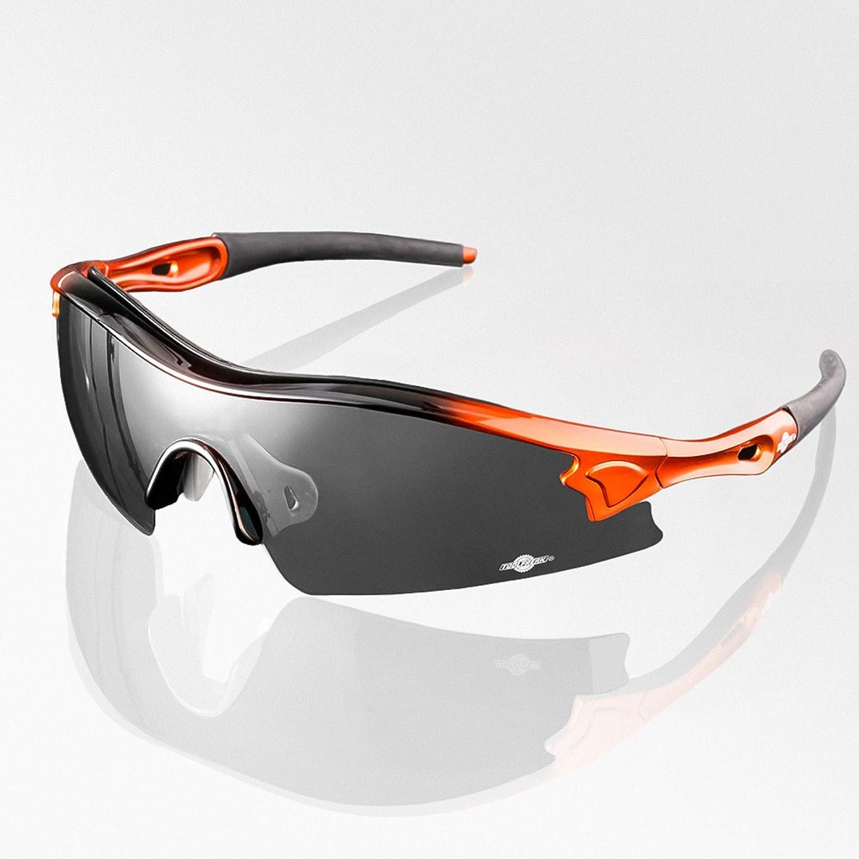 Gafas de Sol de Seguridad de Lente Oscuro de ToolFreak Reevo. Anti Reflejo, perfectas para trabajo, deportes y más. Más protección UV y protección contra impactos. EN166 FT