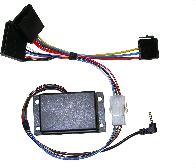 alle mit seperatem Display ab Bj. 2005 Pioneer Adapter f/ür Lenkradfernbedienung bei Renault