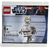 LEGO STAR WARS TC-14 Promo MiniFigure Silver Chrome C-3PO Exclusive Limited Edition (japan import)