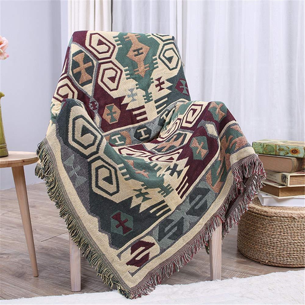幾何学的織物タペストリー投げ毛布理想的なヨガキャンプピクニックビーチ毛布寝具家の装飾柔らかい織 (Color : Multi-colored, Size : 230cm*280cm) 230cm*280cm Multi-colored B07TB4TWBZ
