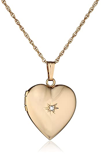 necklace rose p locket monica diamond neiman prod mu gold rich kosann