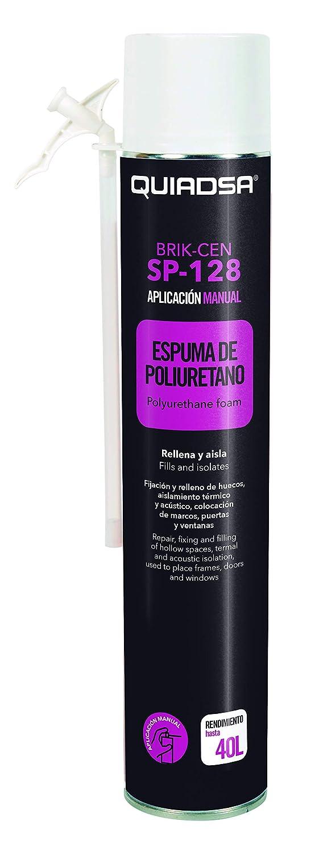 Quiadsa 53300001 Espuma de Poliuretano, 750 ml