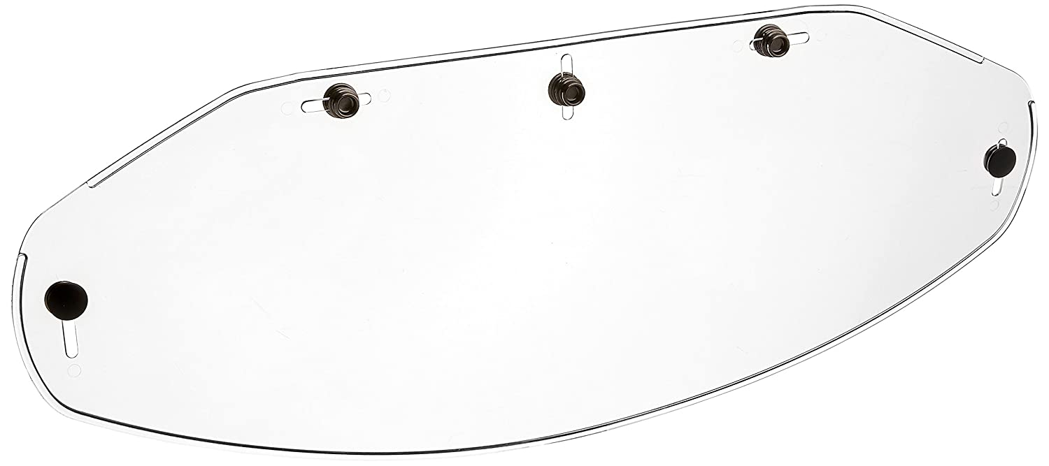 02-505 5-Snap Flat Shield, Clear Echo Products