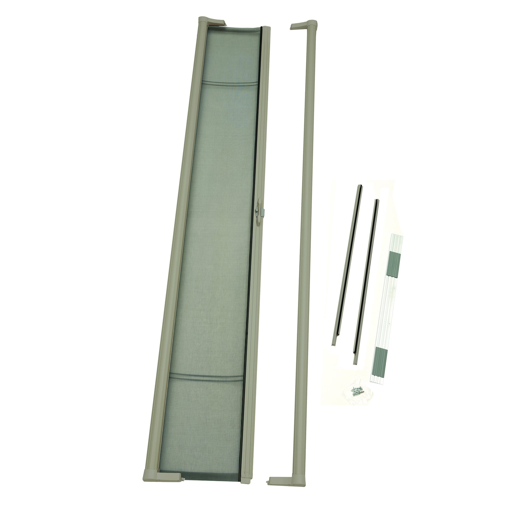 ODL Brisa Premium Retractable Screen for 96 in. Inswing/Outswing Hinged Doors - Sandstone