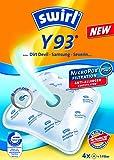 4Swirl Y93Sacs d'aspirateur pour Fakir Prestige A 220d'origine