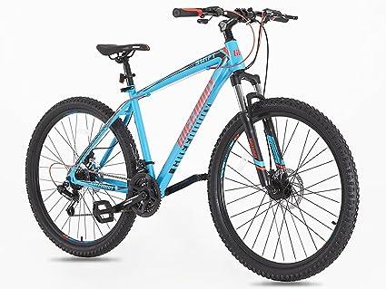 GW Adultos para Bicicleta de montaña MTB 21 Velocidad 27,5 Pulgadas Ruedas 18 Pulgadas