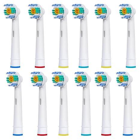12 uds (3x4) de cabezales para cepillos de dientes E-Cron®.