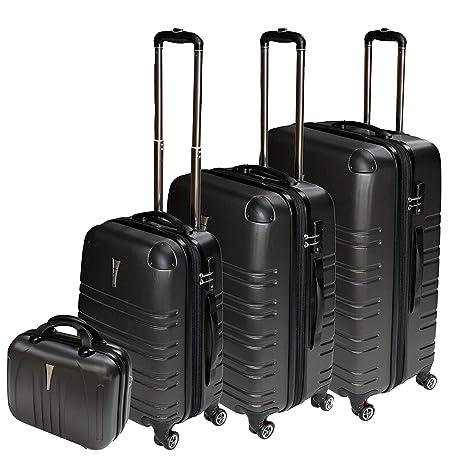 Dell - Juego de maletas Schampagner ML XL BEATY CASE