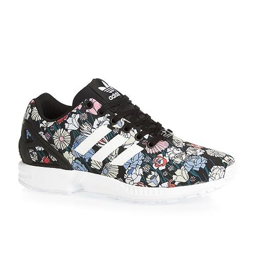 56a147503 adidas Women s Originals Zx Flux Trainers in Black  Amazon.co.uk ...