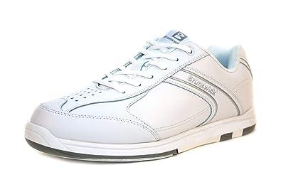 0811a67e9 Brunswick Flyer Chaussures de Bowling Blanc - Adulte et Enfant ...
