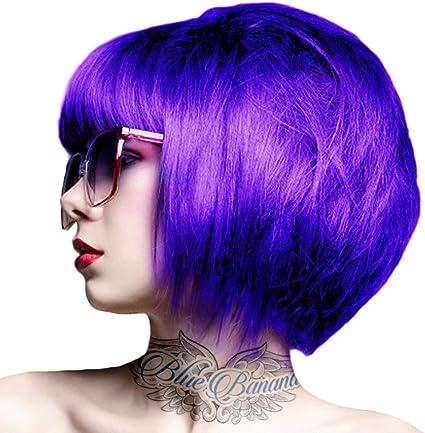 Renbow Crazy Color 43 - Tinte semipermanente en crema para el pelo, 100 ml, color violeta