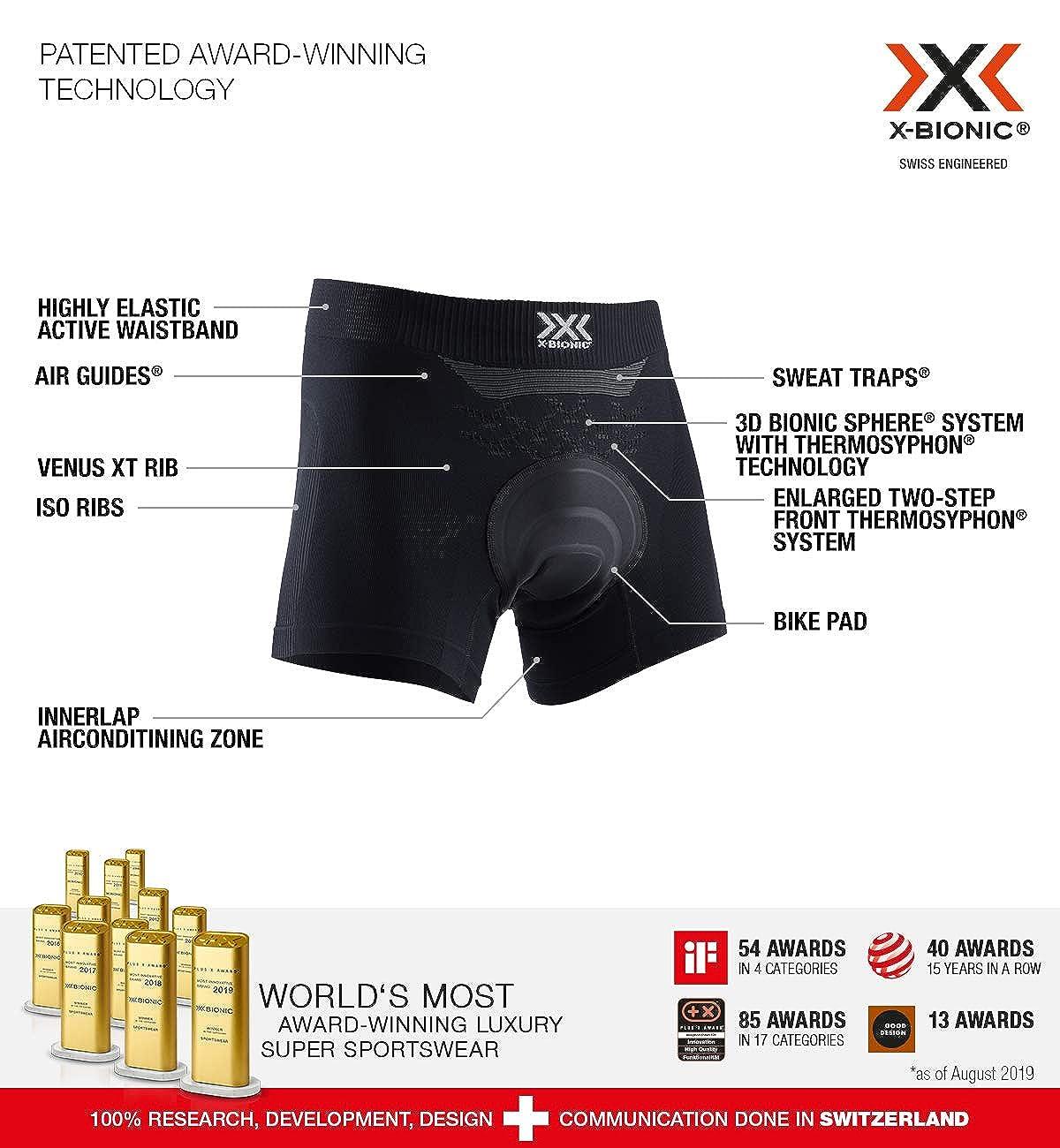 X-Bionic Energizer 4.0 Light Boxer Shorts Padded Mujer
