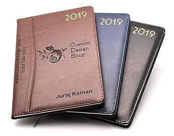 Organizador de agenda personalizado Premium 2019 de piel ...