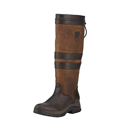 marketable men/man presenting Ariat Women's Braemar GTX Outdoor Fashion Boot