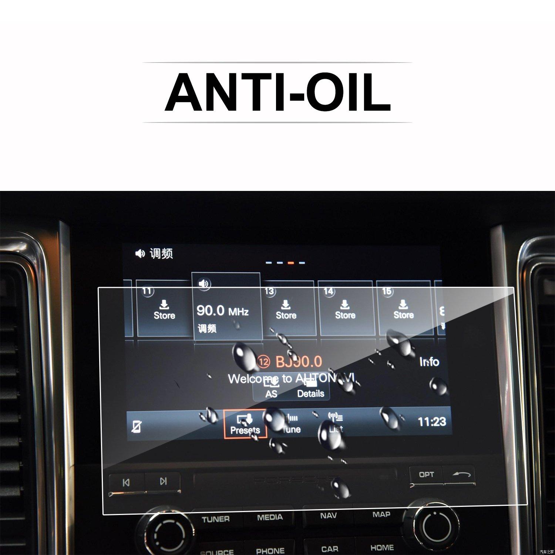 Lfotpp Porsche Macan 2016 2017 Pcm 40 9 Inch Car Navigation Wiring Diagram Screen Protector Glass 9h Tempered Touch Anti Scratch