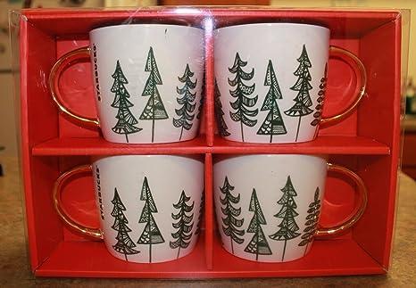Starbucks Christmas.Amazon Com Starbucks Christmas Holiday Gold Handle Green