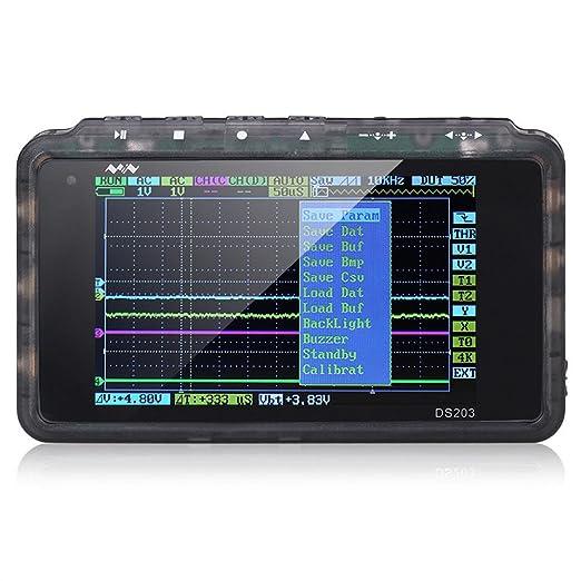 2 opinioni per SainSmart DSO203 Nano ARM Oscilloscopio Digitale Portatile, 4 Canali, 72MHz di