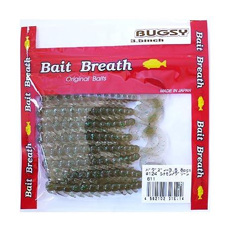 BaitBreath(ベイトブレス)ワームバグズィー3.5#124シナモン/グリーンの画像