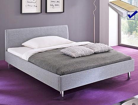 expendio tapizada (Holger 140 x 200 gris Single cama cama ...