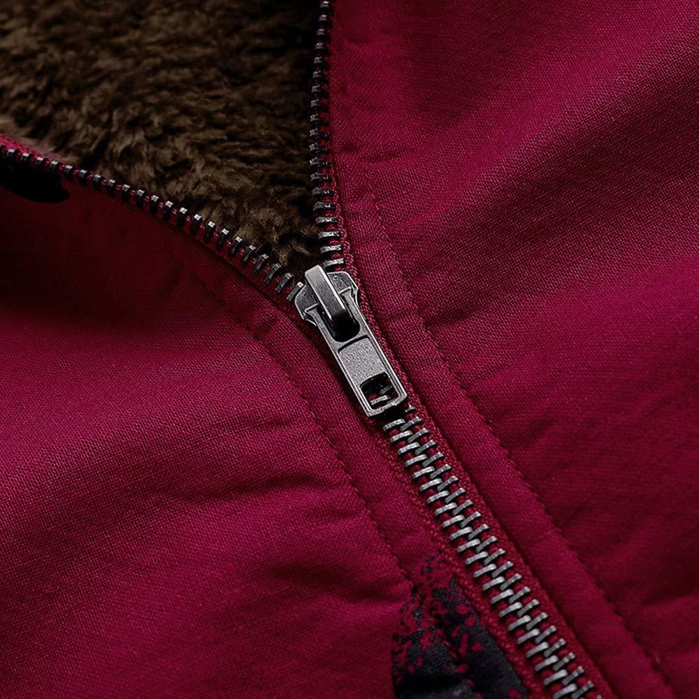 Gallity Winter Coats Jacket Women,Cotton Linen Fluffy Fur Plus Size Coat Outwear