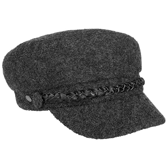 Lierys Wool Baker Boy Hat Women´s Cap (One Size - Anthracite ... bc793f0f202