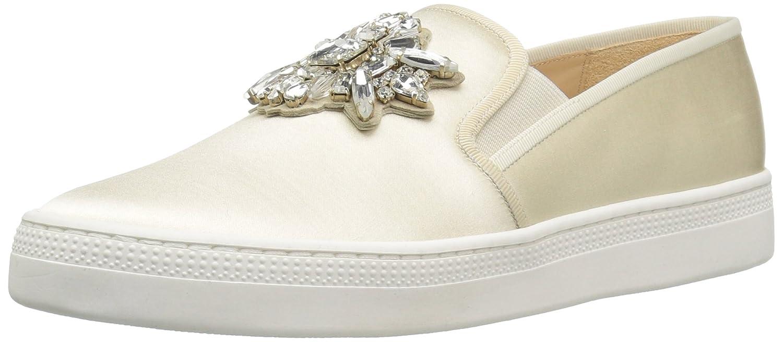 Badgley Mischka Women's Barre Sneaker B01IEYBWU0 6.5 M US|Ivory