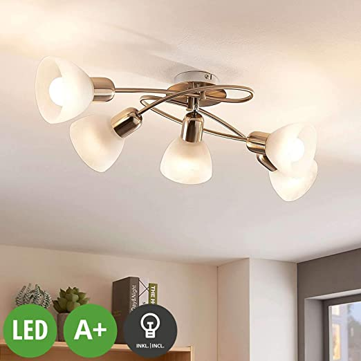 LED Proyector, foco Paulina (Moderno) en Gris hecho de Metal ...