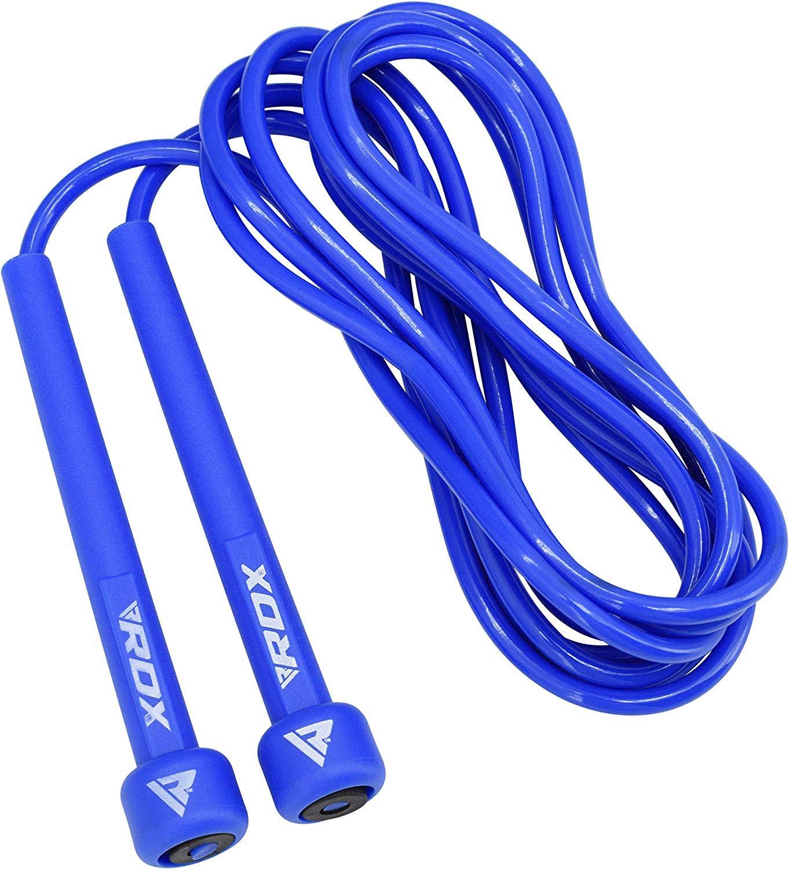 RDX Saltar Cuerda Ajustable PVC Saltar Velocidad MMA Boxeo Perder Gimnasio Peso Gimnasia Fitness Saltar Metal Cable Entrenamiento Ejercicio Entrenamiento: ...