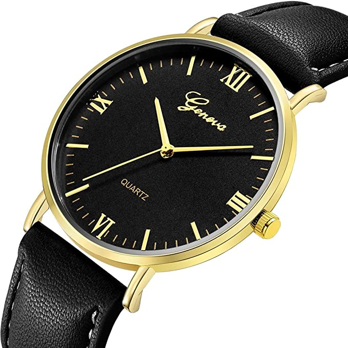 Amazon.com: Iuhan Quartz Wrist Watch for Women Girls Ladies, Women Watches Leather Band Luxury Quartz Watches Girls Ladies Wristwatch Relogio Feminino Reloj ...
