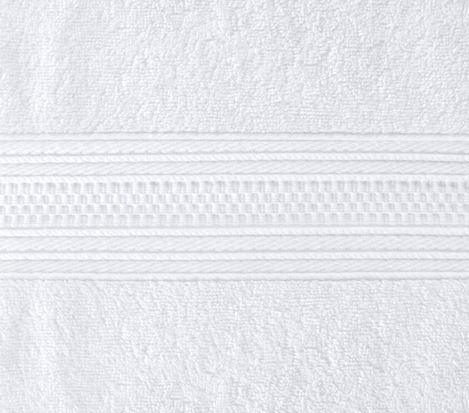 Utopia Towels Pack of 24-700 GSM Premium Cotton Bath Towel (White, 27 x 54 Inches) Luxury Bath Sheet Perfect for Home, Bathrooms, Pool and Gym Ring-Spun Cotton (White) by Utopia Towels (Image #4)