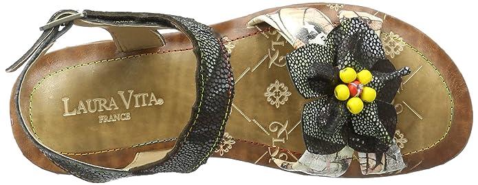 Laura Vita Brownie 04, Sandalias para Mujer: Amazon.es: Zapatos y complementos