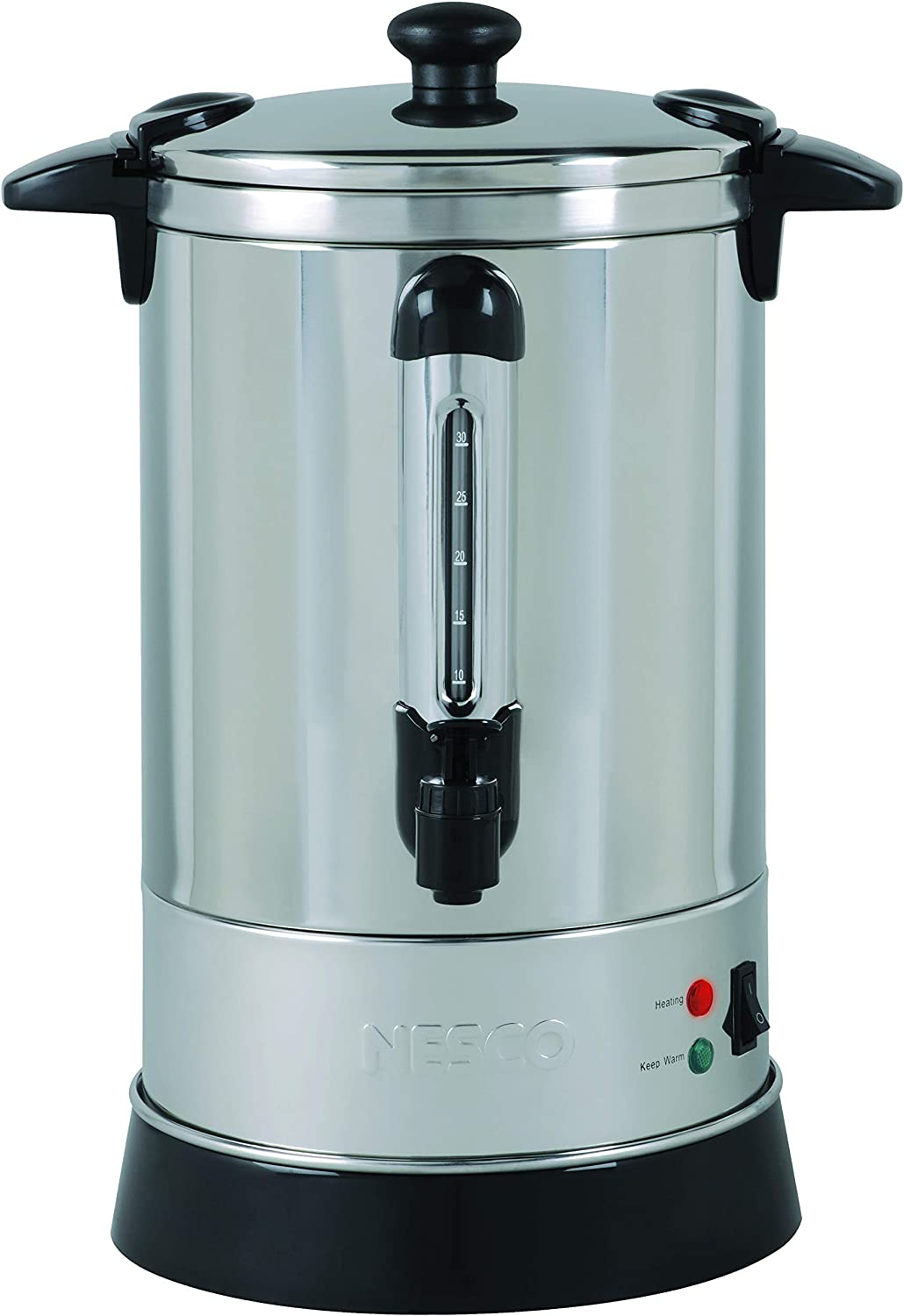 Nesco Professional Coffee Urn, 30 Cups, Stainless Steel